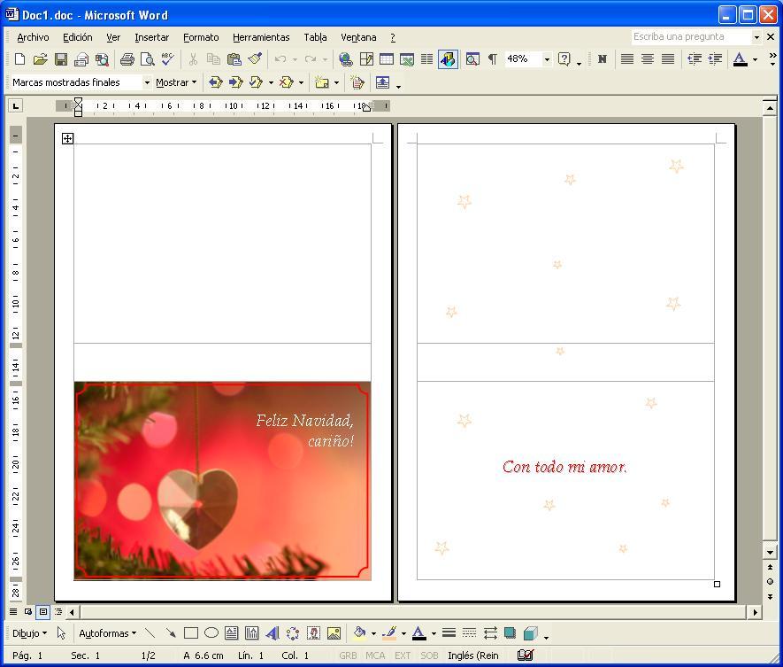 Bordes para cartas word gratis fotos car interior design - Como hacer targetas de navidad ...